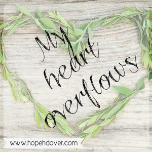 Full Hands, Overflowing Heart - www.hopehdover.com